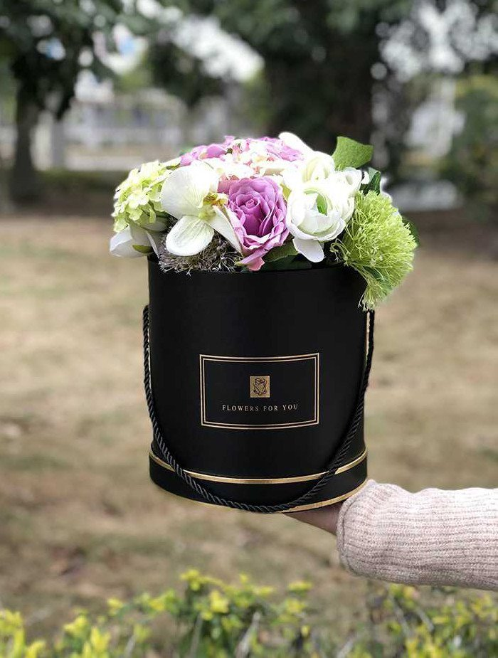 Hat Flower Box