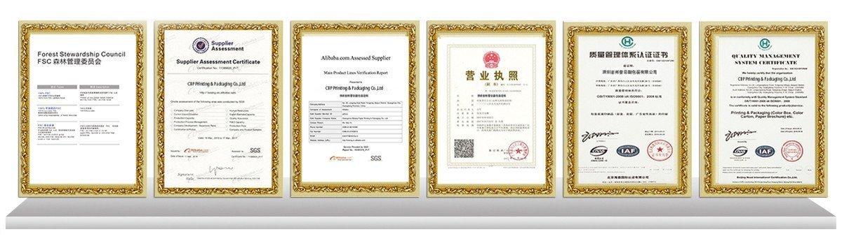 certificate | CBP