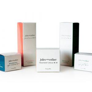 skincare box packaging
