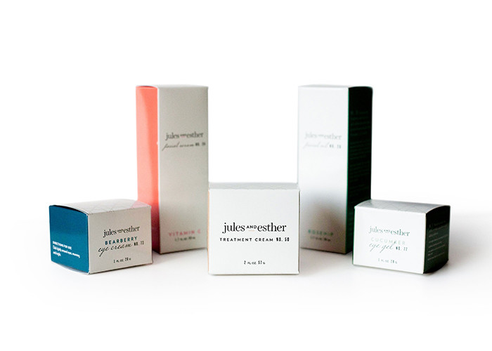 skincare box packaging