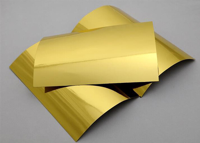 Gold Card Stock Paper